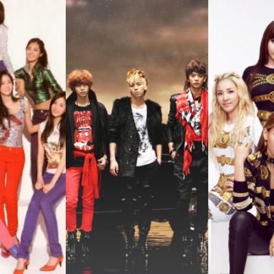 Os 10 maiores hits da 2° geração do Kpop