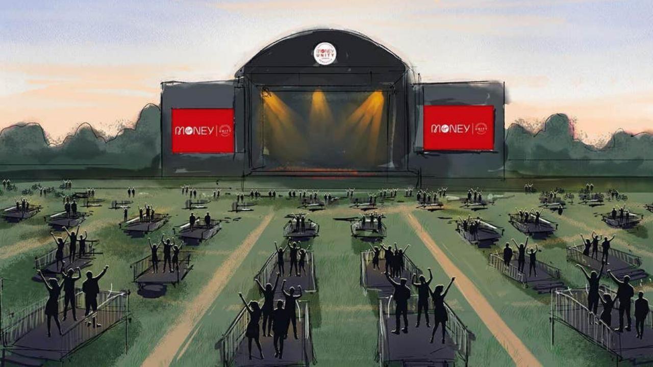 Os fãs de show já podem comemorar, pois a primeira arena, chamada Virgin Money Unity Arena, para eventos respeitando o distanciamento social está sendo desenvolvida.