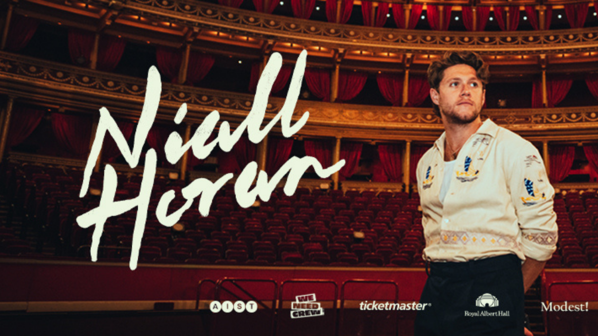 Niall Horan fará live no Royal Albert Hall