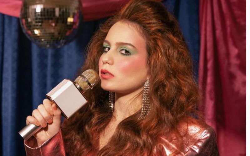 Carol Biazin durante gravações de 'Desgrama' (Milena Rosado)