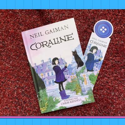 O que achamos da nova edição do livro Coraline, Neil Gaiman | Imagem: Parada Pop