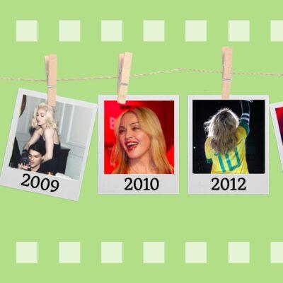 Passagens da Madonna no Brasil