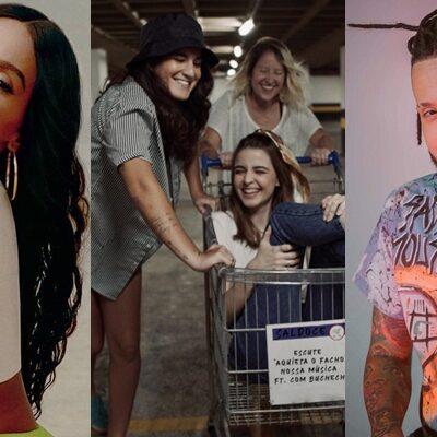 Lançamentos nacionais Anitta, SalDoce, Julies e mais!