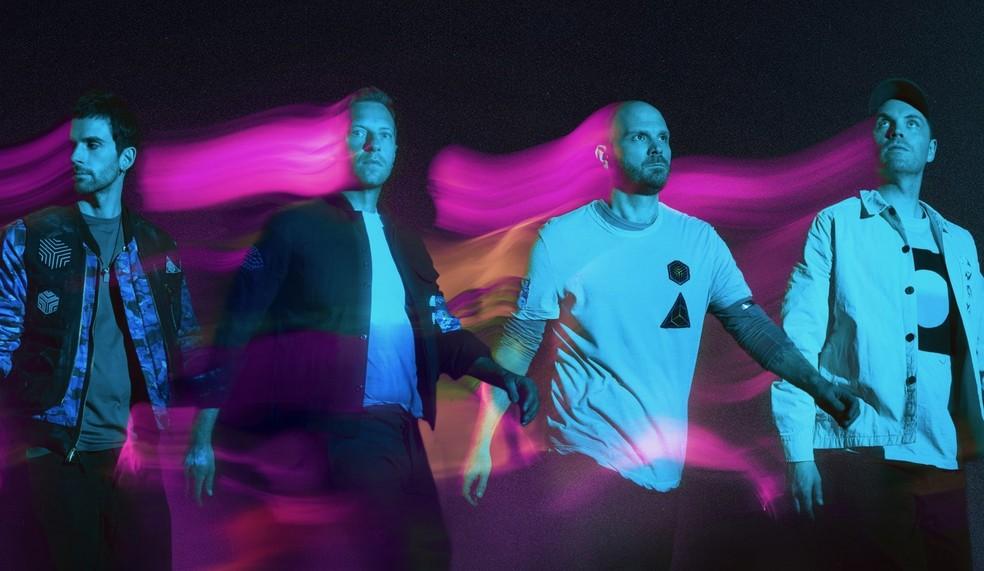 """Coldplay nos levou para outra dimensão em """"Music of the Spheres"""""""